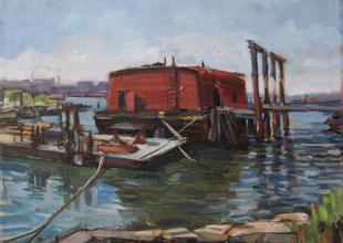 Waterfront Museum Barge, Francis Sills
