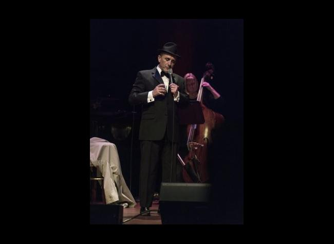 Tony Sands as Frank Sinatra