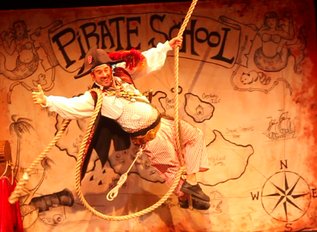 Pirate Billy Bones comes to the Waterfront Museum August 4.