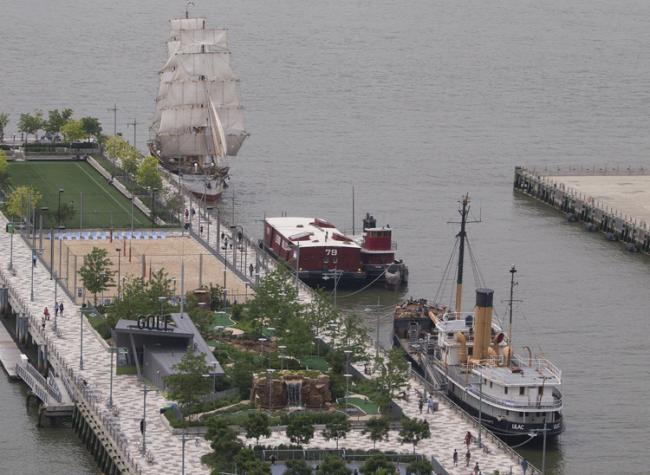 Historic Ship Festival June 20 - 23 at Hudson River Pier 25. Photo Credit: Milo Hess.