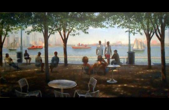 """Riverview"" Artist: Frank Hanavan"
